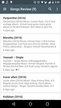 Tamil Songs Review poster