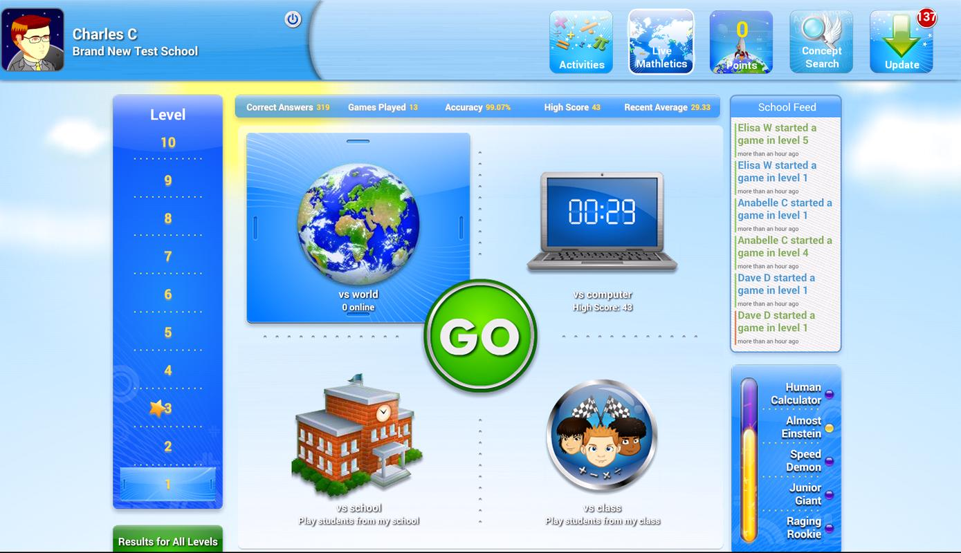 Mathletics Student APK Download - Free Education APP for Android ...