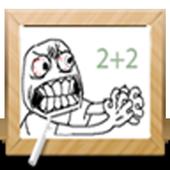 """""""Math Memes"""" math for kids icon"""