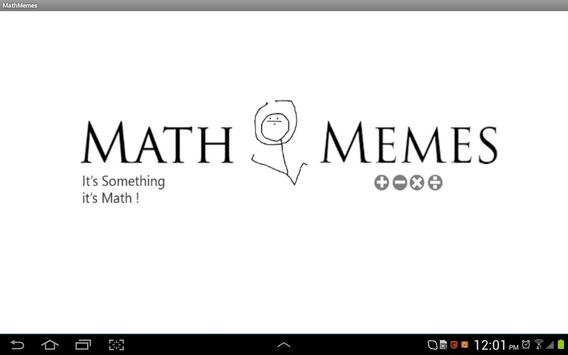 """""""Math Memes"""" math for kids apk screenshot"""