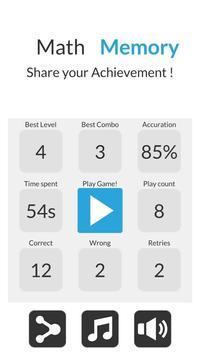 Math Memory screenshot 1