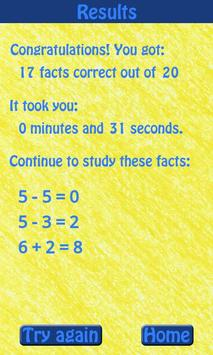 Know Your Math Facts screenshot 4
