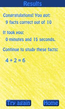 Know Your Math Facts Free screenshot 3