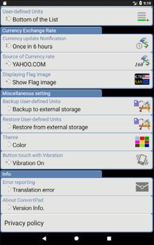 ConvertPad - Unit Converter ảnh chụp màn hình 21