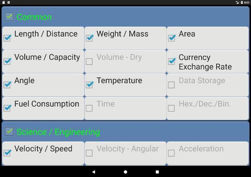ConvertPad - Unit Converter screenshot 9