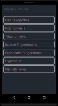 Calculus Maths Formula apk screenshot