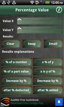 Percentage Calculator screenshot 1