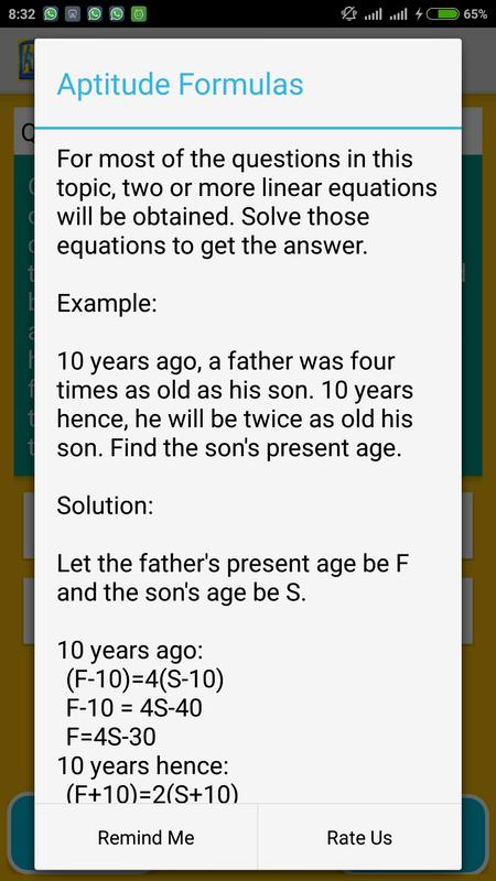 Aptitude 2016 17 For Exams For Android Apk Download