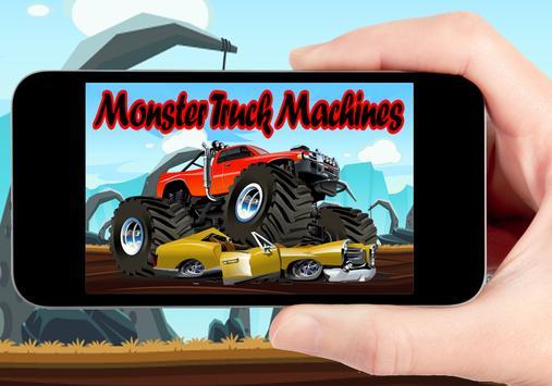 Monster Truck Machines apk screenshot
