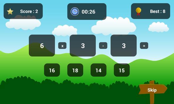 Maths for Kids apk screenshot