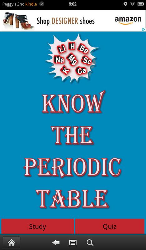 know the periodic table poster - Periodic Table Apk Download