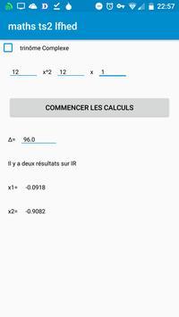 Maths de Terminales S (TS2 LFHED¬sterge) screenshot 4