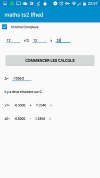 Maths de Terminales S (TS2 LFHED¬sterge) screenshot 1