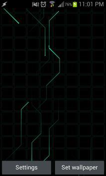 Tron Traces Lite - LWP apk screenshot