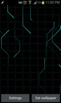 Tron Traces Lite - LWP poster