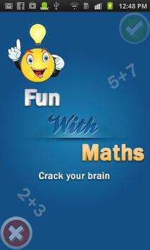 Maths Game poster