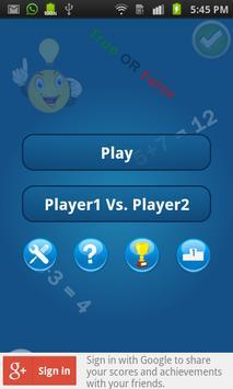 Maths Game screenshot 1