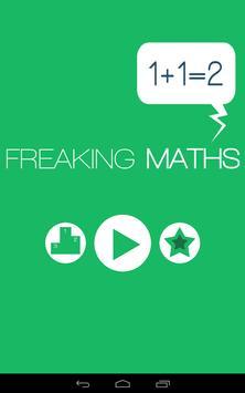 Freaking Maths Game poster