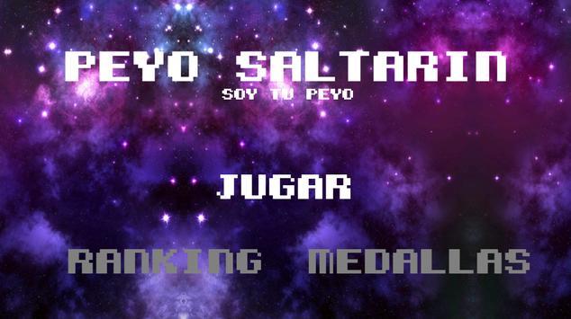 Peyo Saltarin poster