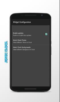 Clock Craft Sonic apk screenshot