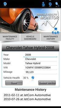 Vehicle Health App apk screenshot