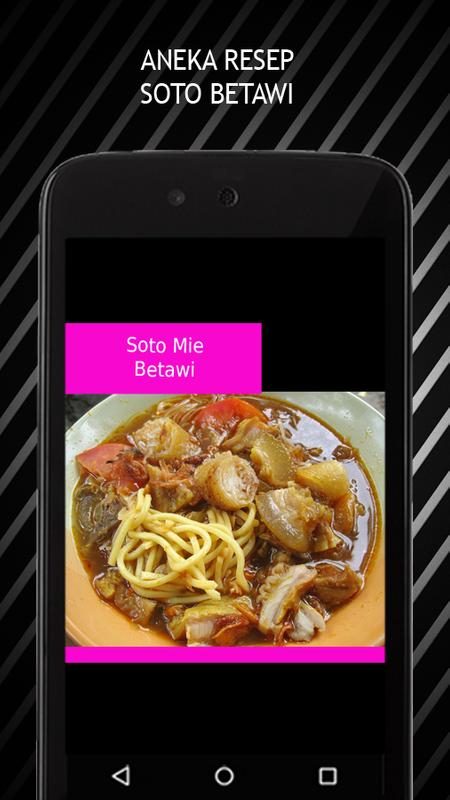 Aneka Resep Soto Betawi For Android Apk Download
