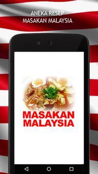 Resep Masakan Malaysia poster
