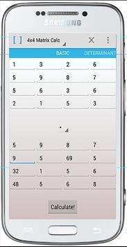 matrix calculator screenshot 1