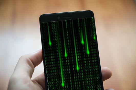 Digital Matrix Live Wallpaper Pro screenshot 1