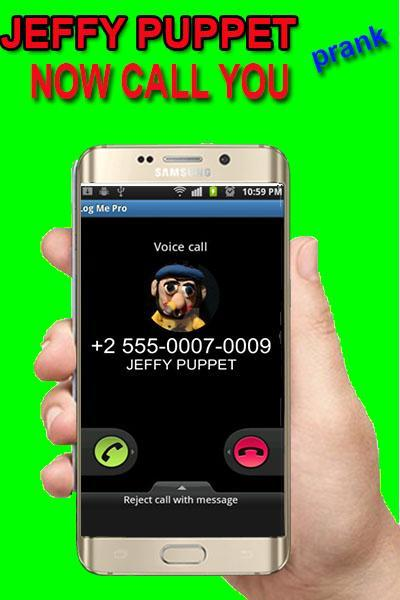 Fake call Jeffy Puppet prank for Android - APK Download