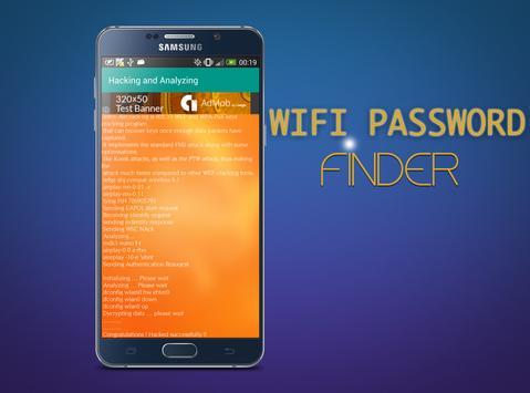 WIFI Password Finder - PRANK apk screenshot
