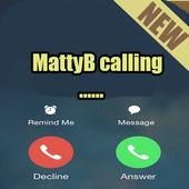 MattyB fake call prank call icon