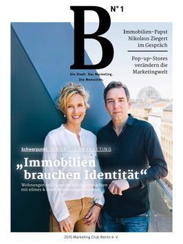 B-Magazin poster