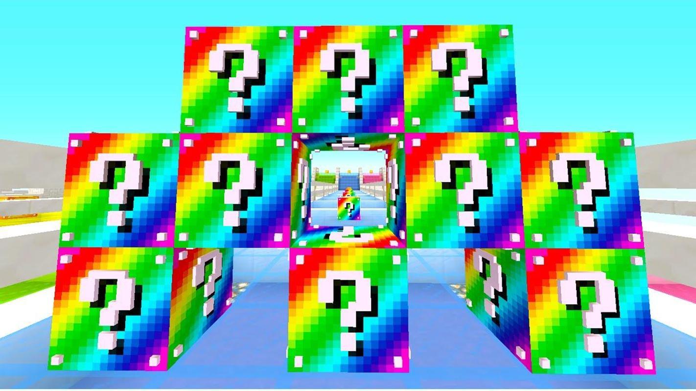 скачать мод на видео геймс лаки блоки для майнкрафт 1.7.10 #10