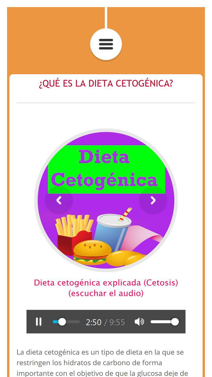 tipo 1 y dieta cetosis