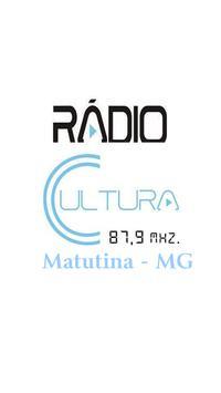 Rádio Cultura FM Matutina - MG poster