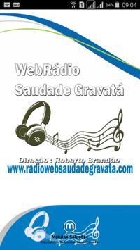 Webradio Saudade Gravatá poster