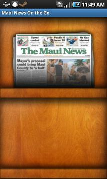 Maui News On The Go poster