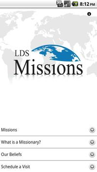 LDS Missions poster