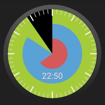 Sectors Watch Face apk screenshot