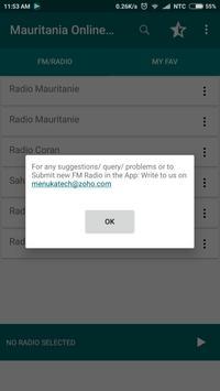 Mauritania Online FM Radio screenshot 8