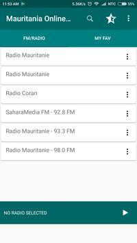 Mauritania Online FM Radio screenshot 1