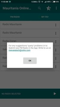 Mauritania Online FM Radio screenshot 2
