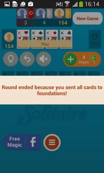 Mobile Solitaire screenshot 1