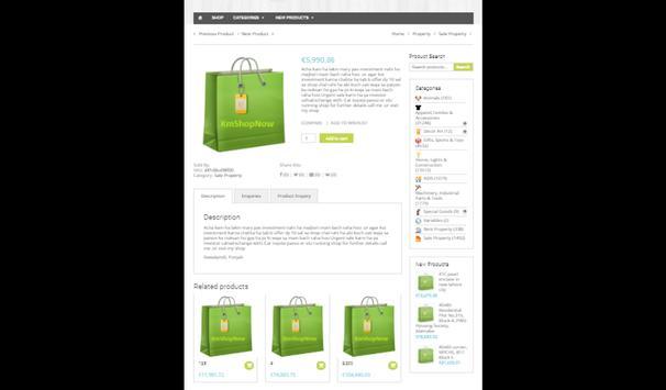 KMShopnow Multi-Vendor Online Shopping App screenshot 8