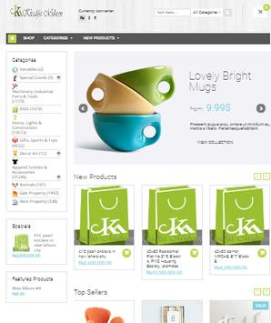 KMShopnow Multi-Vendor Online Shopping App screenshot 1