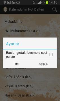 Kalemdar'ın Not Defteri apk screenshot