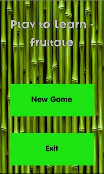 Play to Learn - Fruitale poster