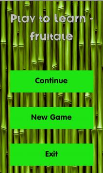 Play to Learn - Fruitale screenshot 5