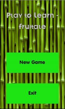 Play to Learn - Fruitale screenshot 6